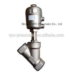 Y-Type Stainless Steel Angle Seat Valve pictures & photos