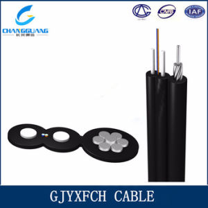 China Factory Price Self-Supporting Bow-Type Drop Fiber Optic Cable with Low Smoke Zero Halogon Flame Retardant Sheath GJYXFCH Optical Fiber Cable