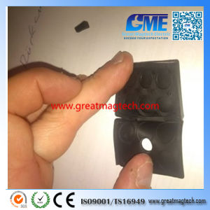 High Quality Customized Rubber Coated Flat Holding Magnet pictures & photos