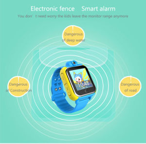 3G Kids GPS Smartwatch with Touch Panel pictures & photos