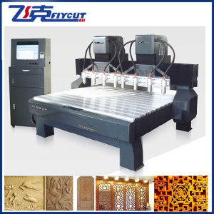 8spindles CNC Engraving Router Woodworking Milling Machine pictures & photos