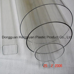 Transparent Plastic Extrusion Pipe for Packagin pictures & photos