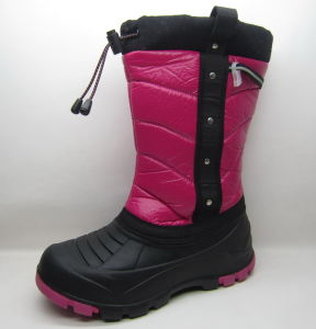OEM Upper Snow Boots Witer Boots Fur Boots for Girl pictures & photos