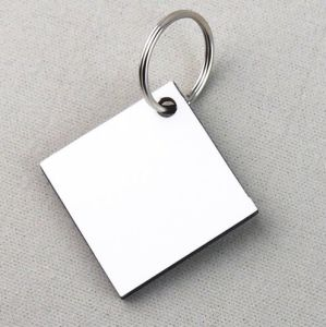 Attractive MDF Latest Sublimation Wooden Keychain
