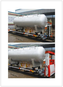 10cbm LPG Skid-Mounted Filling Station pictures & photos