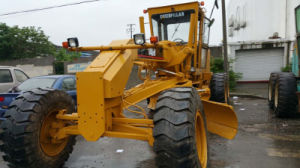 15ton Turbocharged/Aftercooled Original-Yellow-Paint Cat-C7-Diesel-Engine USA-Export Wheel Caterpillar 140h Motor Grader pictures & photos