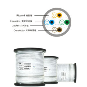 Cable Manufacture LSZH CAT6 Cable UTP Network LAN Cable (ERS-1631258) pictures & photos