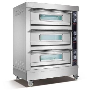9 Tray Electric Pizza Oven (309D) pictures & photos