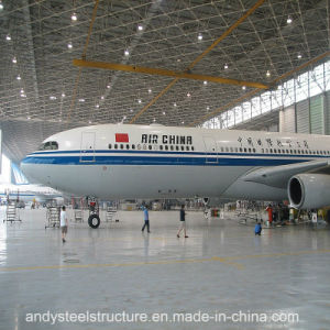 Prefab Large Span Steel Space Frame Roof Aircraft Hangar pictures & photos