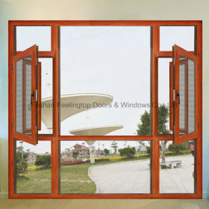 Aluminium Shutter Window with 5mm Double Glazing Glass (FT-W135) pictures & photos