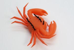 Solar Toy Orange Crab Gift Gadget Crab Solar Energy Crab Running Crab pictures & photos