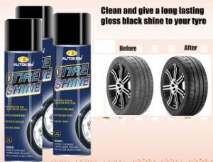 Car Tire Shine Aerosol Spray pictures & photos