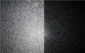 Polished G684 Black Basalt Stone Slabs/Flooring Tile pictures & photos