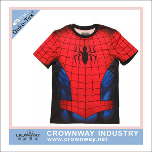 Spider Dye Sublimation Printing Running Shirt for Men pictures & photos