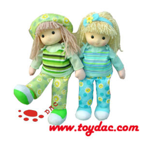 Plush Doll with Hair Toy pictures & photos