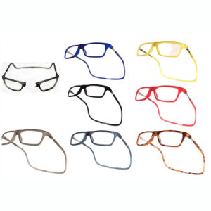 Fashion Injection Magnetic Frame Reading Glasses pictures & photos