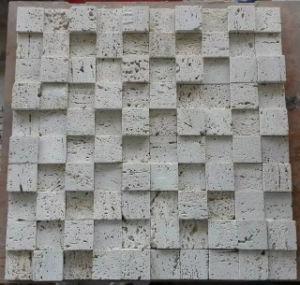 3D Mosaic Tile Stone Marble Mosaic (HSM205) pictures & photos