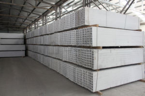 Low Porous Fabric Concrete Board Price for Holllow Panel