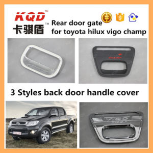 Back Handle for Toyota Hilux ABS Plastic Tail Gate Cover Plastic Bowls Handle Cover for Toyota Hilux Vigo Accessories