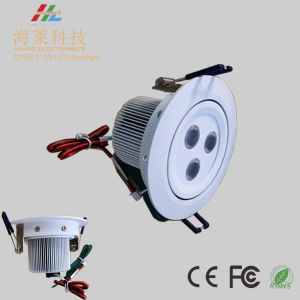 12V or 700mA 3*3W Polished or Matte Finished LED Downlight pictures & photos