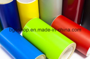Screen Printing Auto Vinyl PVC Self Adhesive Vinyl (100mic 140g relase paper) pictures & photos