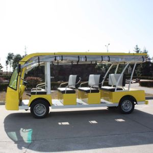 CE Approved Wholesale 11 Seater Electric Shuttle Bus Price (DN-11) pictures & photos