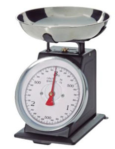 5kg Large Dial Metal Housing Mechanical Kitchen Scale pictures & photos