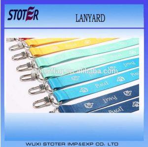 Wholesale Custom Plastic Zipper Lanyard, Plastic Lanyards pictures & photos
