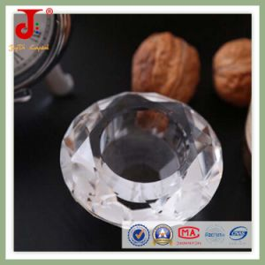 Clear Diamond Shape Candleholder (JD-CH-014) pictures & photos