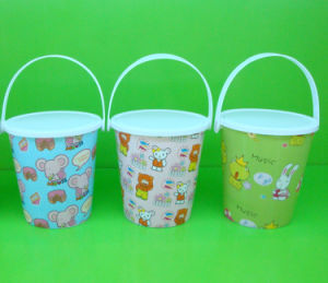 PP Clear Food Grade Plastic Bucket/ Cup pictures & photos