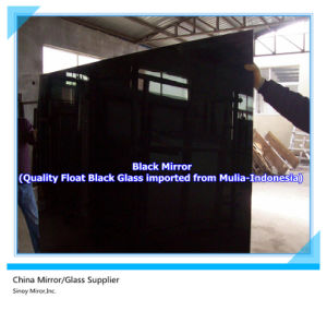 China 3mm-6mm Double Coated Black Painted Glass Sheet Supplier pictures & photos
