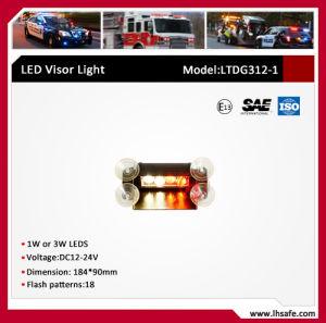LED Warning Visor Light (LTDG312-1) pictures & photos
