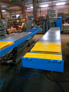 4000kg Saudi Arabia Type in Ground Mounted Car Scissor Lift pictures & photos