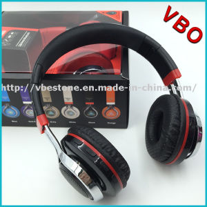 New 2016 Bluetooth Wireless Headband Stereo Headphone with FM TF Card LED Light pictures & photos