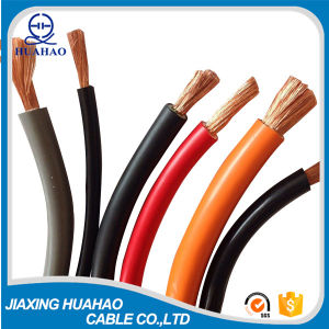 Copper Conductor PVC Jacket Welding Cable pictures & photos