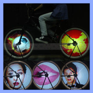 144 LED RGB DIY Colorful Programming Bicycle Wheel Display System Bike Light pictures & photos
