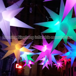 LED Lighting Decoration Inflatable Star Inflatable Cloud for Party Event pictures & photos