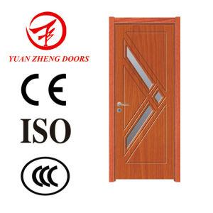 PVC Door Profile Wood Door Designs Made in China pictures & photos