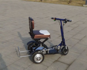 48V Lithium Battery Three Wheel Disabled Electric Mobility Scooter pictures & photos