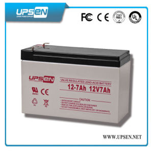 Long Life Maintenance Free Sealed Lead Acid Battery 12V 7ah pictures & photos