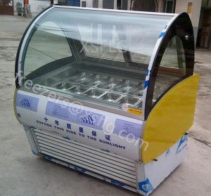 Italian Gelato Ice Cream Display Freezers for Sale pictures & photos
