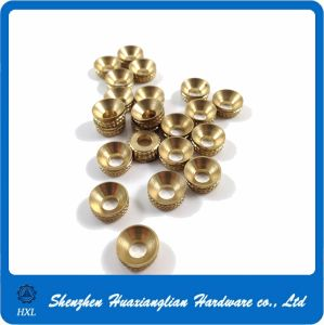 China Brass Knruled Cup Washer with High Quality pictures & photos