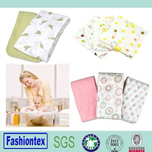 Super Soft Portable Reusable Cotton Baby Muslin Square Diaper pictures & photos