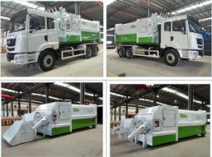 Compression Garbage Trucks with 360kn pictures & photos