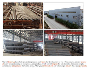 Welded Steel Pipe, Seamless Steel Pipe pictures & photos