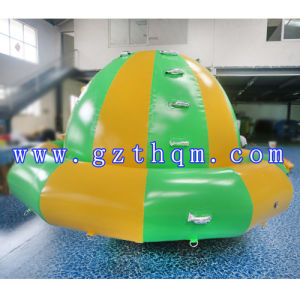 Outdoor Inflatable Rotating Gyroscope Aqua Park/UFO Human Water Game pictures & photos