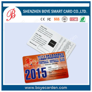 Cr80 RFID Card with Magnetic Stripe for Hotel Key System pictures & photos