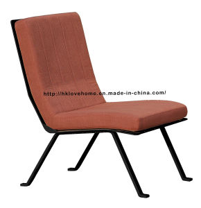 Dining Coffee Restaurant Metal Wire Leisure Black Upholstered Chairs pictures & photos
