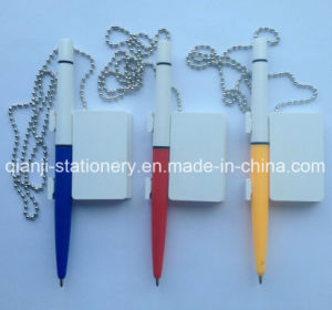 Promotion Table Pen with Chain (J1001) pictures & photos