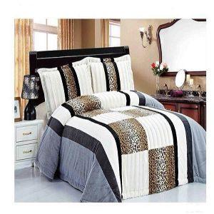 2015 New Design Luxury Patchwork Quilt Bedding Set (SH4070-3)